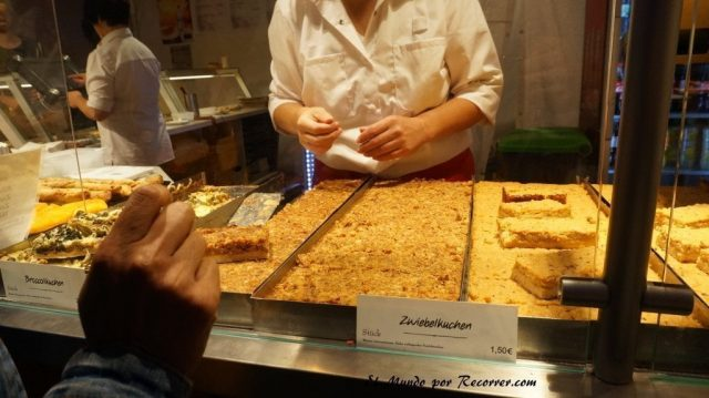 Zwiebelmarkt weimar Alemania la fiesta de la cebolla pastel