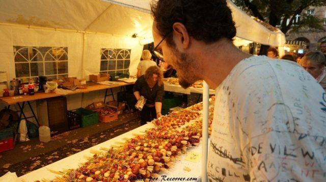 Zwiebelmarkt weimar Alemania la fiesta de la cebolla yo
