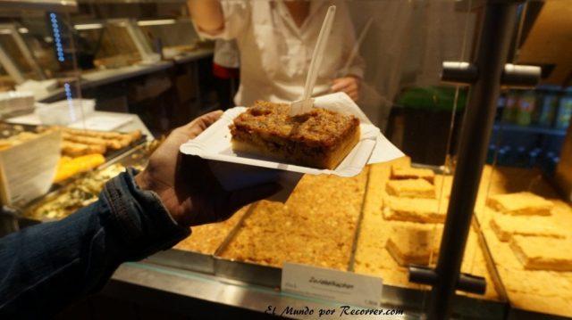 Zwiebelmarkt weimar Alemania la fiesta de la cebolla zwiebelkuchen
