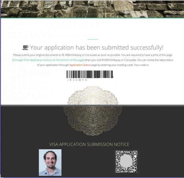 Iran visa online como obtener