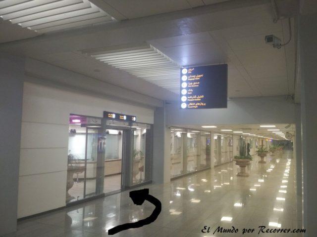 entrada visa aeropuerto iran