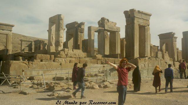 persepolis iran shiraz ruinas de la antigua ciudad