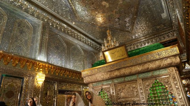 shiraz iran holy shrine