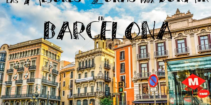 Las mejores zonas barrios para dormir en barcelona