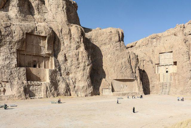 Necropolis Naqsh e Rustam iran shiraz persepolis