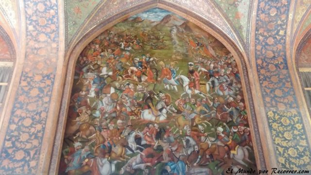 esfahan isfahan iran palacio