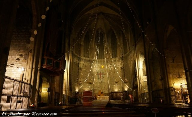 viajar por Barcelona España catedral del pi