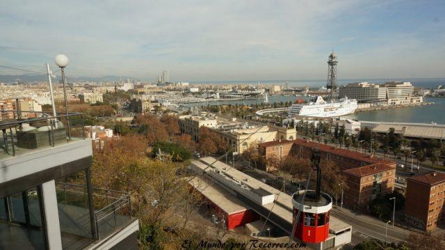 viajar por Barcelona España montjuic