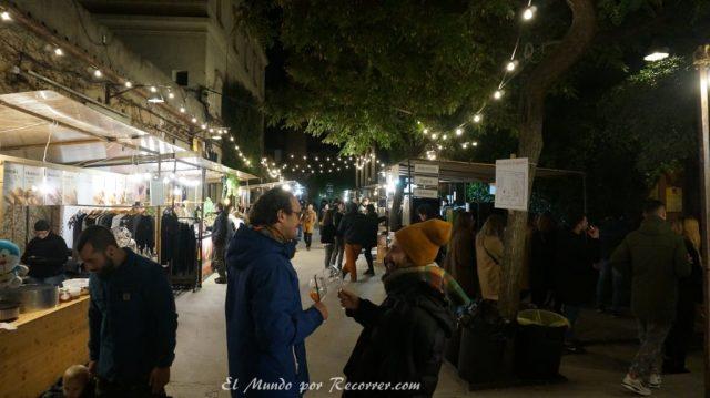 viajar por Barcelona España palo alto market domingo en el domingo