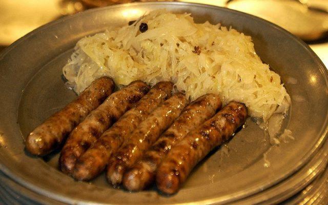 Bratwurst Nuernberg alemania salchichas