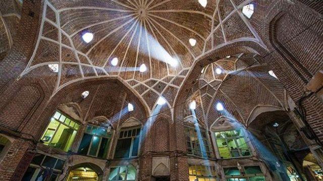 bazar tabriz iran viajar