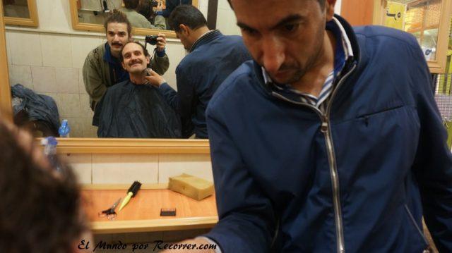 marivan barbero bigote kurdo iran