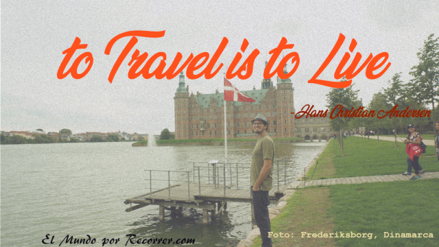 to travel is to live hans christian andersen frases citas viajeras travel quote efff