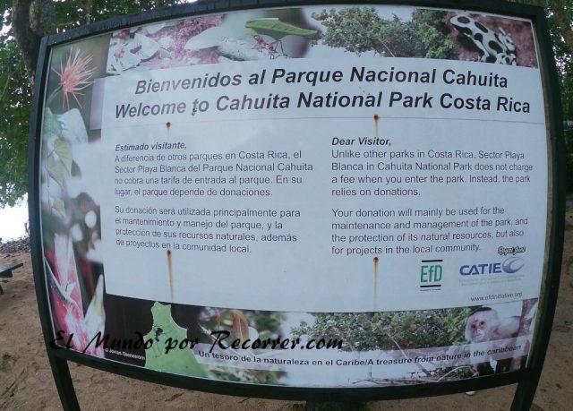 Viajar a Puerto Viejo Costa Rica en limon parque nacional cahuita