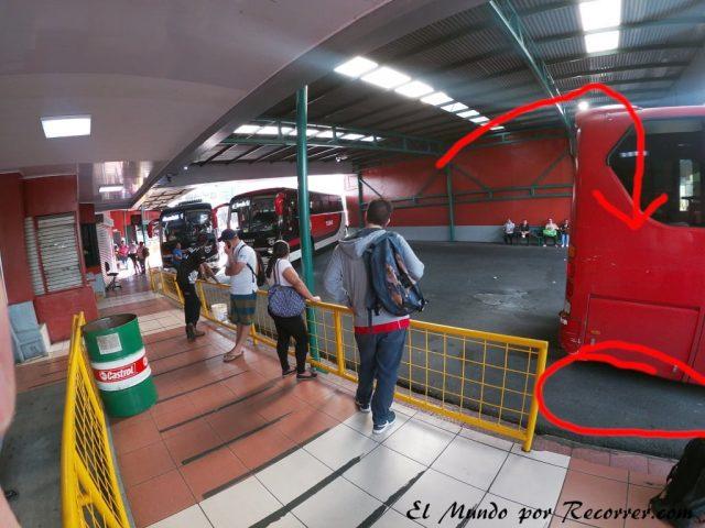 San jose costa rica estacion bus aeropuerto alajuela