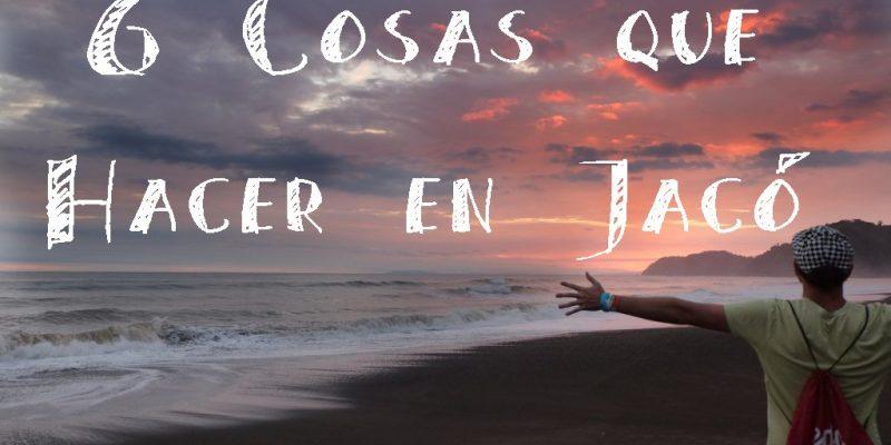 cosas que hacer en Jaco costa rica playa sunset