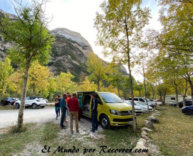 Monte Perdido Ordesa parking