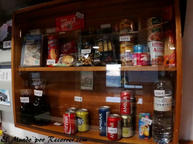 Monte Perdido Ordesa precios de comida en el refugio de Goriz