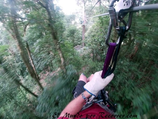 Monteverde San Carlos Costa Rica canopy tirolina