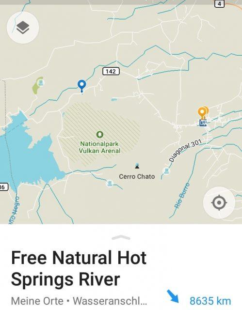 Costa rica la fortuna free natural hot springs termas gratis