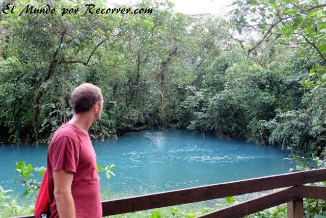 La Fortuna Costa Rica rio celeste tenorio