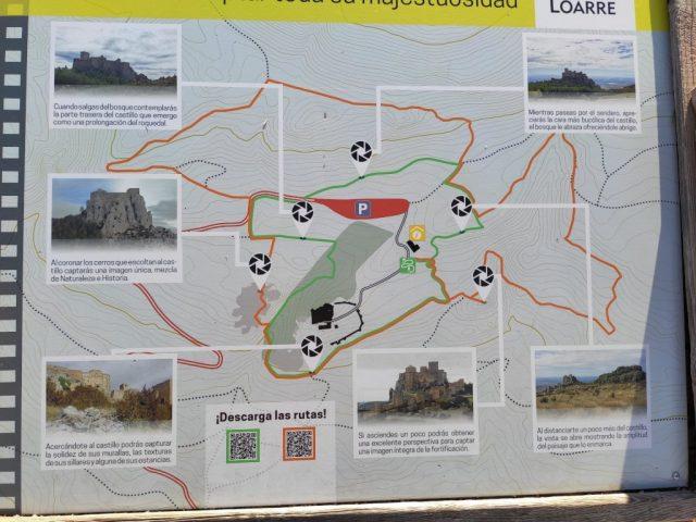 Castillo de Loarre Huesca alrededores del castillo