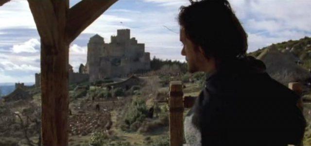 el reino de los cielos pelicula en castillo de loarre