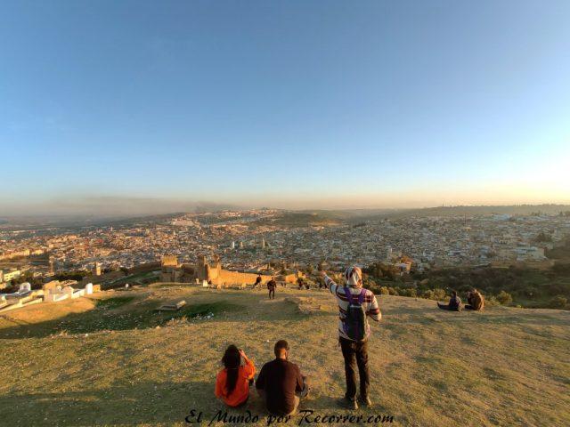 Fez Marruecos viajar mirador