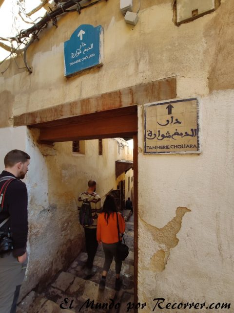 Fez Marruecos viajar tannerie
