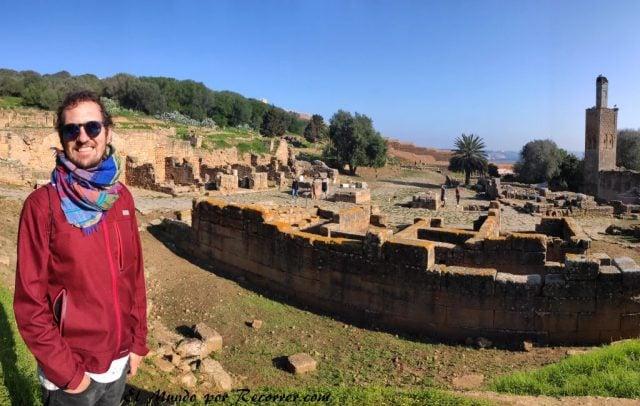Rabat Marocco chellah ruinas romanicas