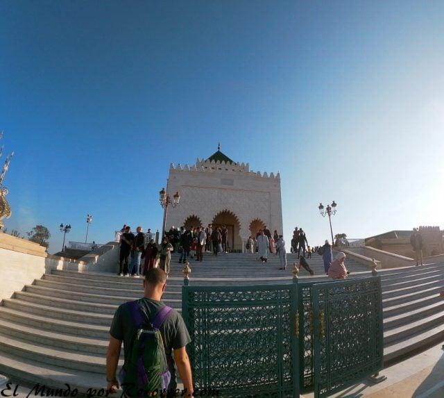 Rabat Marocco mausoleo mohamed v