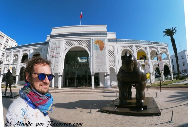 Rabat Marocco museo mohamed VI arte contemporaneo moderno