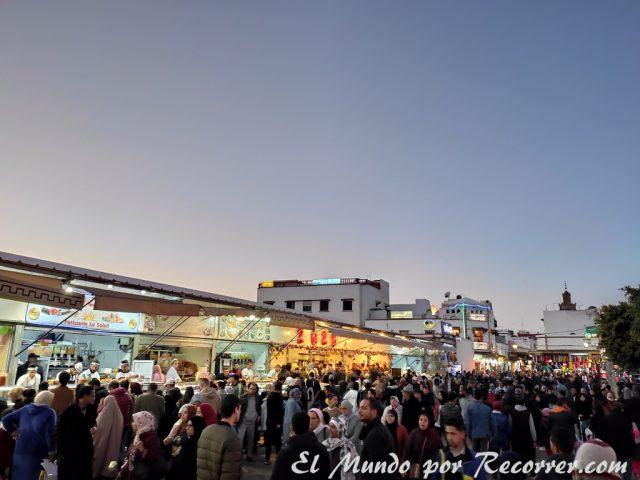 Rabat street food in Medina Mohamed V