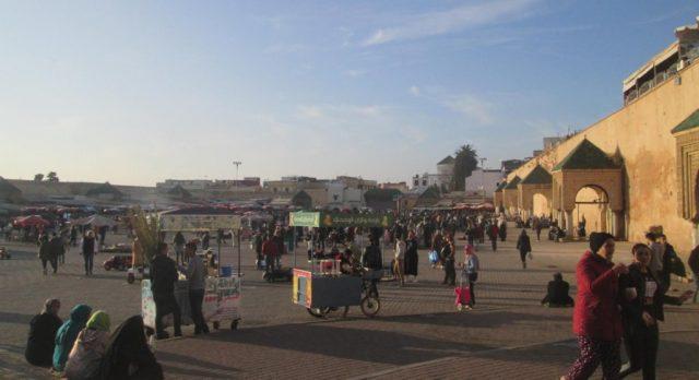 el hedim plaza meknes