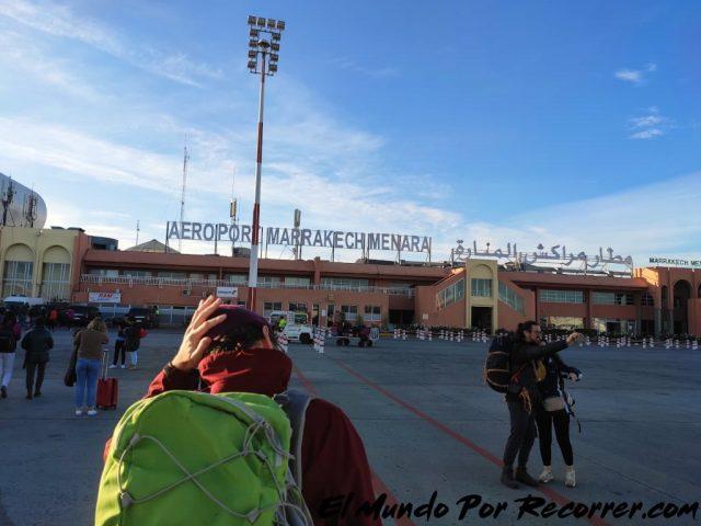 marrakech marruecos menara aeropuerto