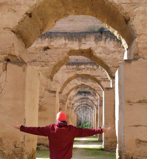 meknes marruecos viajar por turismoo granero caballos