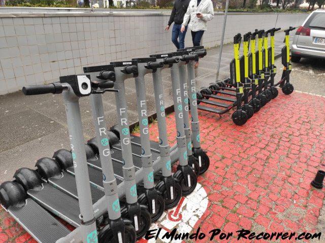 Braga Portugal alquiler de patinetes electricos