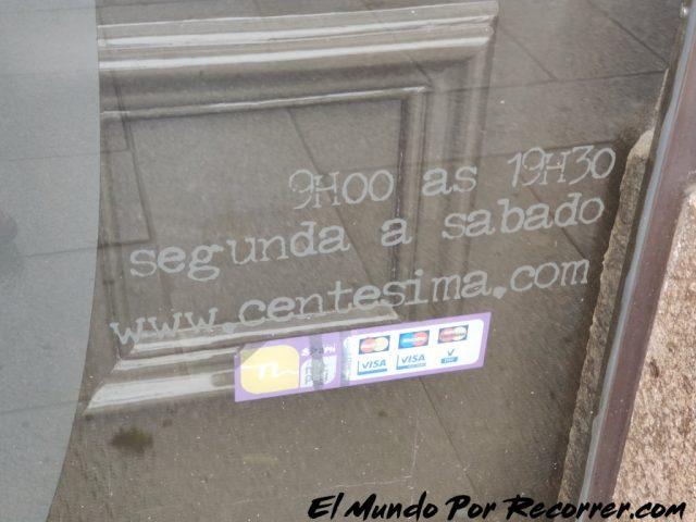 Braga Portugal centesima pagina libreria horario