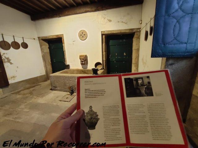 Braga Portugal museo biscasinhos cocina