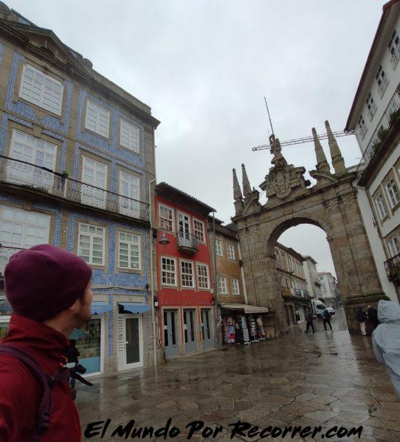 Braga Portugal porta nova