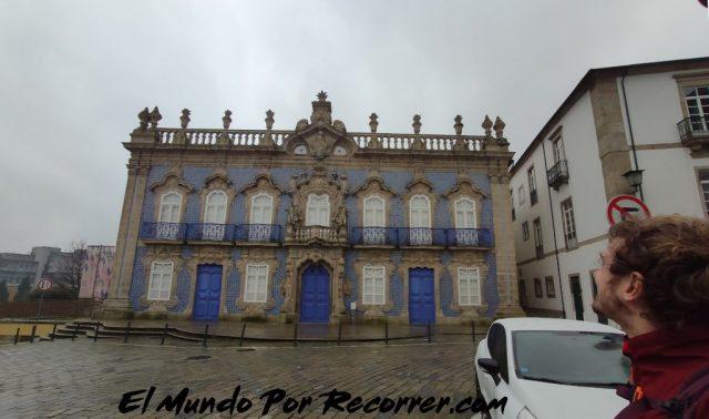 Braga Portugal raia palacio
