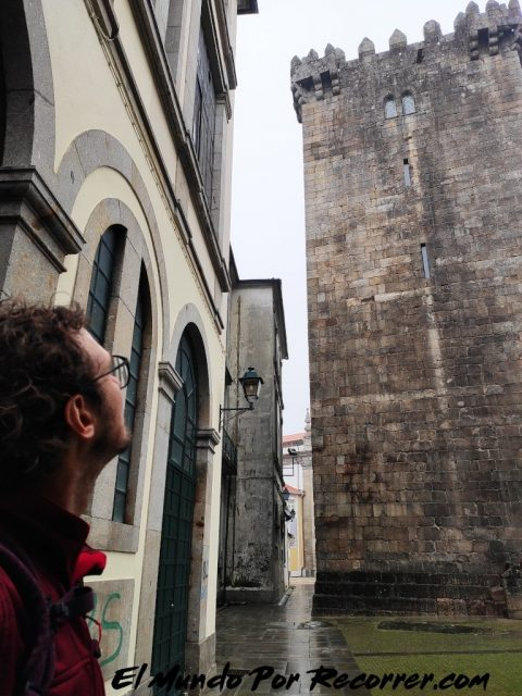 Braga Portugal torre homenaje