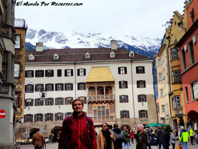 Innsbruck austria goldene dachl