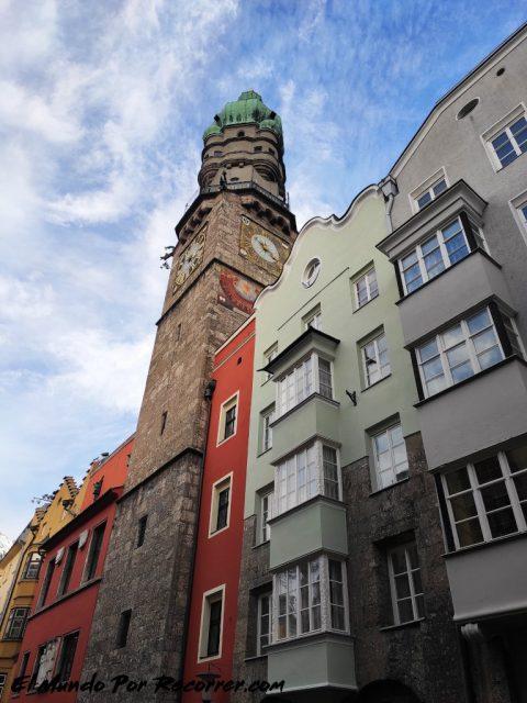 Innsbruck austria stadt turm