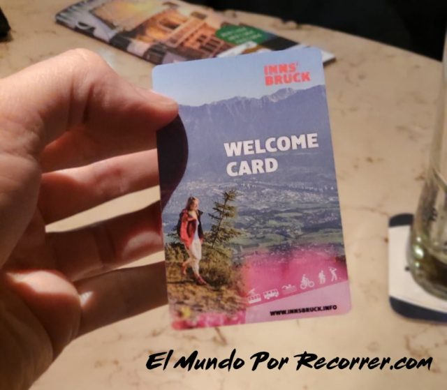 Innsbruck austria welcomecard