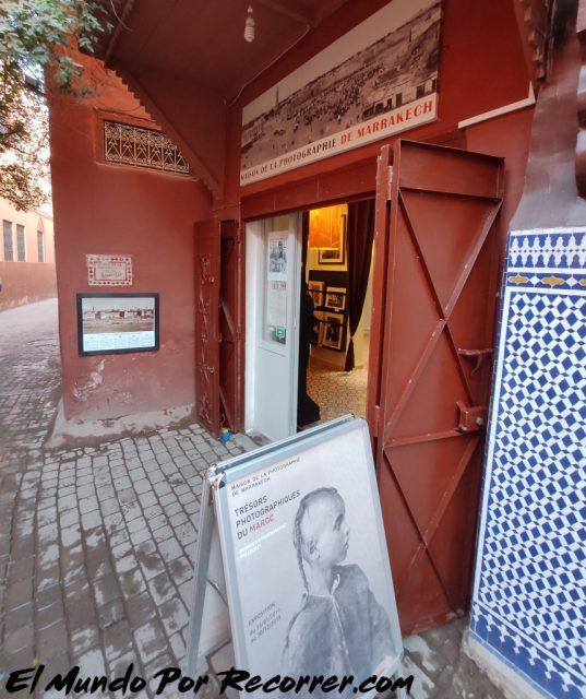 La masoin de la photographie marrakech