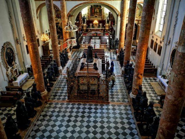 iglesia de hofburg innsbruck austria