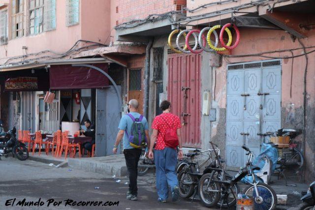 marrakech marruecos calles random