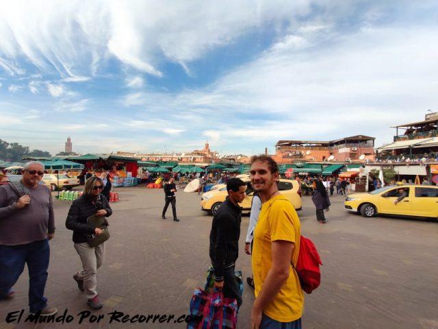 marrakech marruecos el jama fna plaza