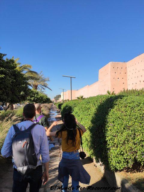 marrakech marruecos muralla